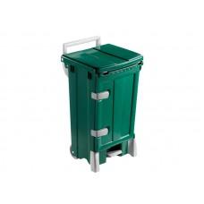 Žalias plastikinis konteineris POLARIS DELUX su durelėmis